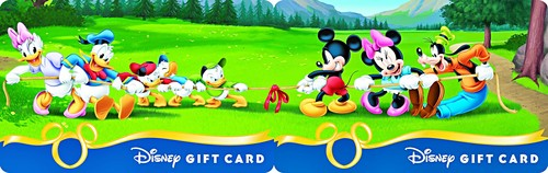 Disney Gift Cards - Pull!