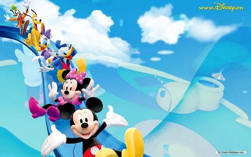 Disney karatasi la kupamba ukuta titled Disney
