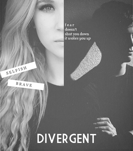 Divergent দেওয়ালপত্র probably with a portrait titled Divergent<3