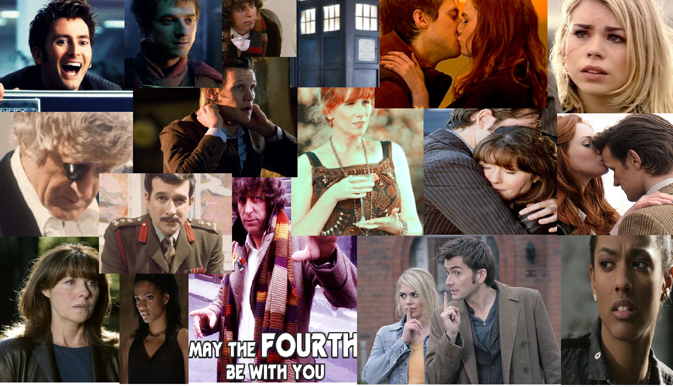 Doctor Who Collage with পোতবিশেষ