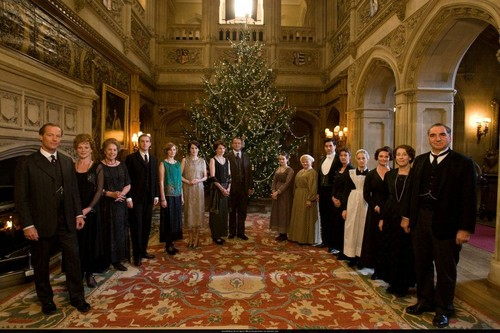 Downton Abbey krisimasi Special