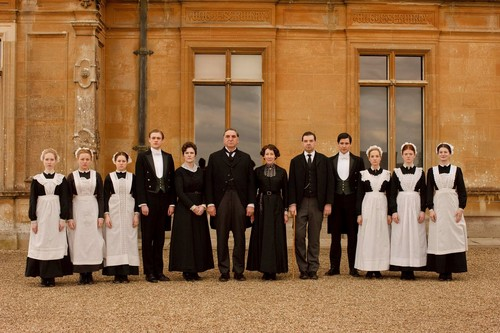 Downton Abbey karatasi la kupamba ukuta entitled Downton Abbey Season 1