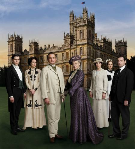 Downton Abbey Hintergrund titled Downton Abbey Season 1