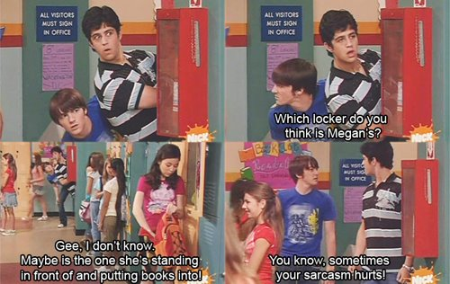 pato, drake and Josh ~ Locker ~