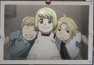 Ed Al and Winry