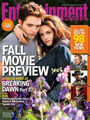 Edward & Bella EW Mag Cover