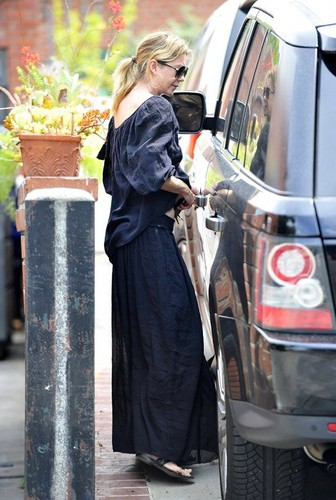 Ellen after getting a facial and massage in Los Angeles