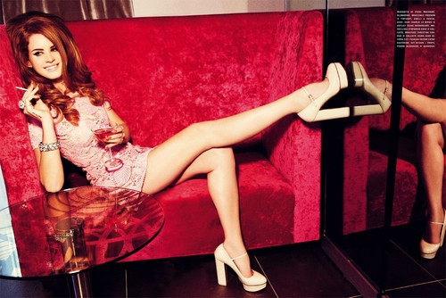 Ellen von Unwerth (Vogue Italia August 2012) - lana-del-rey Photo