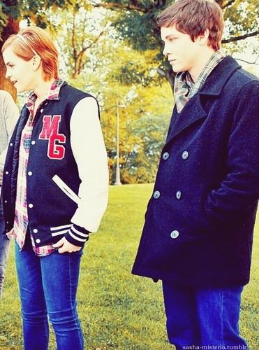 Emma Watson & Logan Lerman