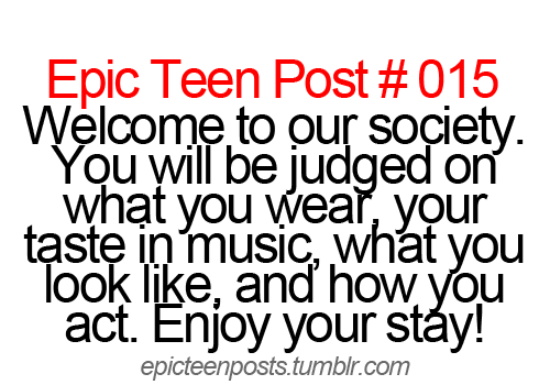Epic teen posts
