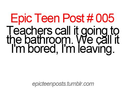 Epic teen posts
