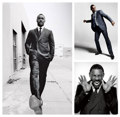 Idris Elba wallpaper with a business suit, a well dressed person, and a suit called Esquire Magazine