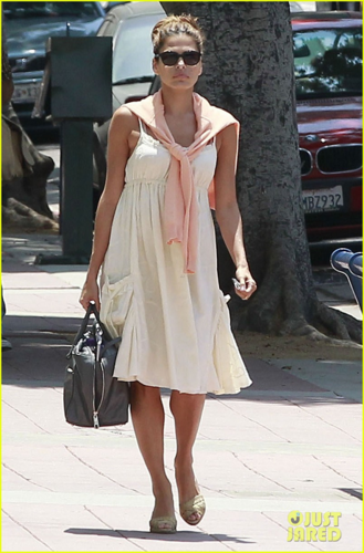 Eva - Going at the acting class in Westwood - August 03, 2012