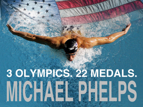 Michael Phelps 壁紙 titled Extraordinair