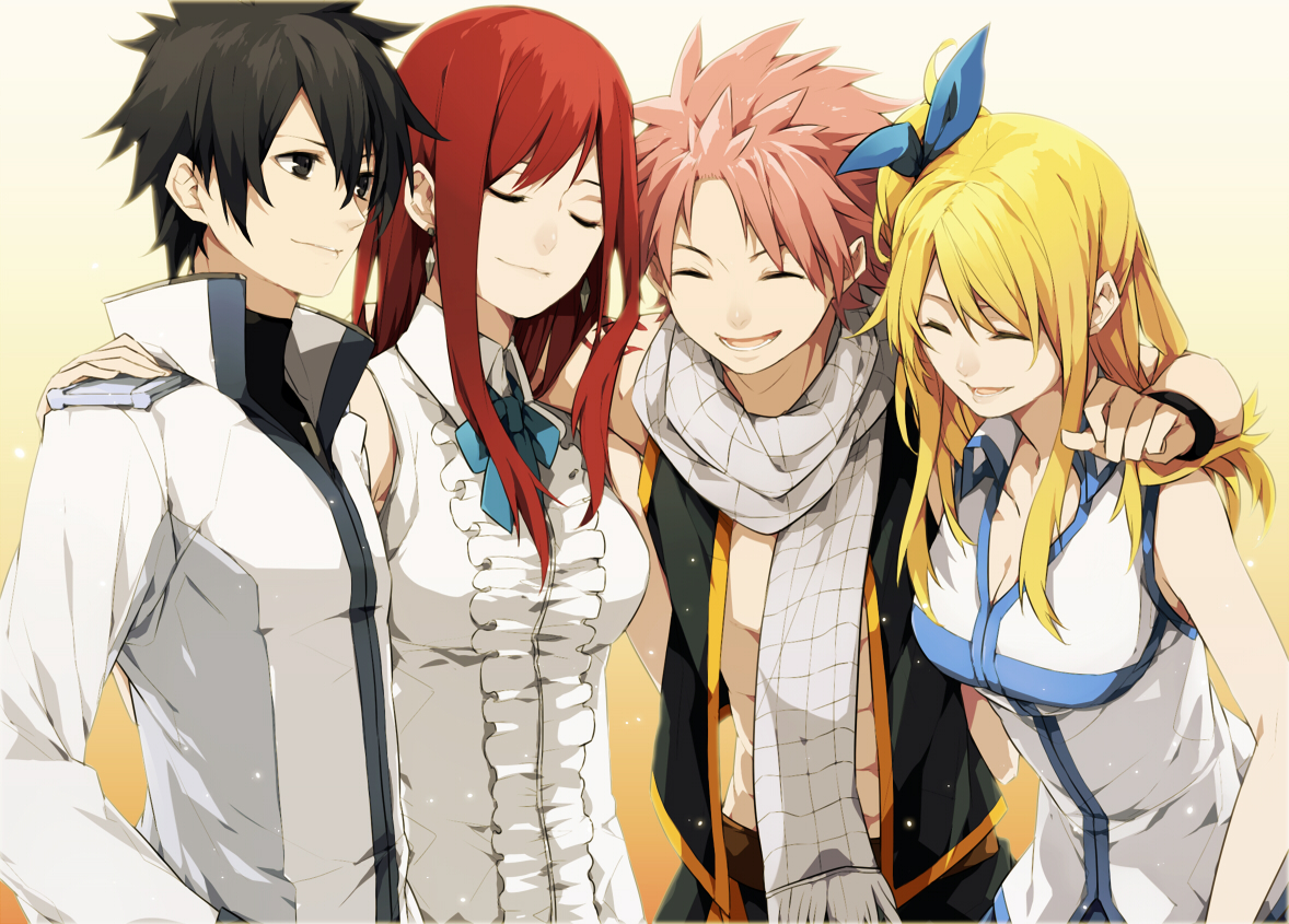 Fairy tail characters ! - Anime Photo (31764068) - Fanpop