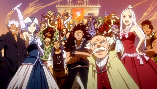 Fairy tail characters !