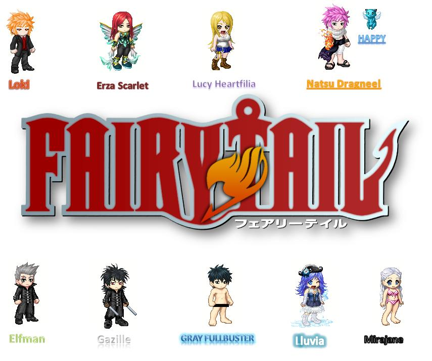 Usuitakumi77 Images Fairy Tail Charaters HD Wallpaper And