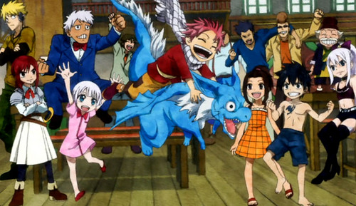 Fairy tail charaters !