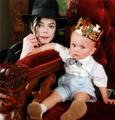 Father and Son - michael-jackson photo