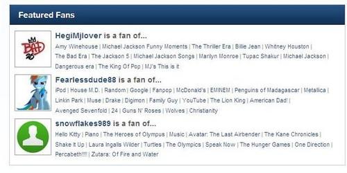 Fearless is a Featured Fan!