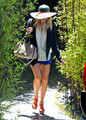 Fergie Heading To A Studio In Hollywood [August 5, 2012] - fergie photo