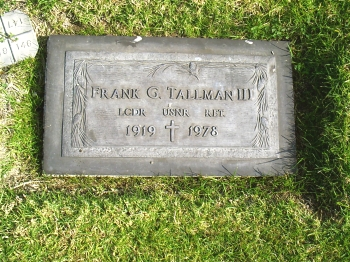 Frank Gifford Tallman ( 17 April 1919-April 15, 1978,