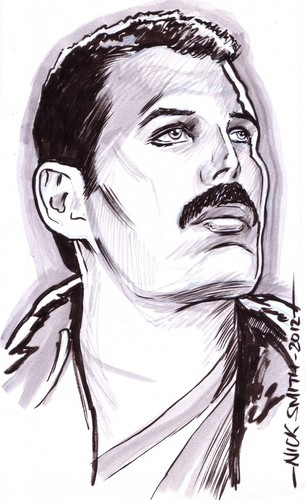 Freddie caricature
