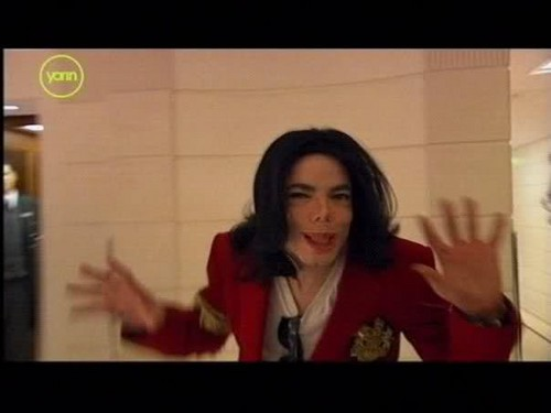 Funny MJ and his adorable faces :D