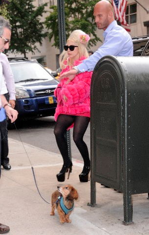 Gaga shopping in NYC (August 7) - lady-gaga Photo