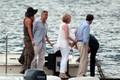 George Clooney and Stacy Keibler Get on a Boat [August 9, 2012] - george-clooney photo