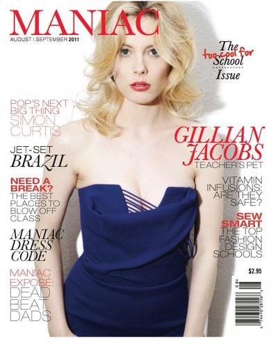 Gillian Jacobs Covers Maniac Magazine
