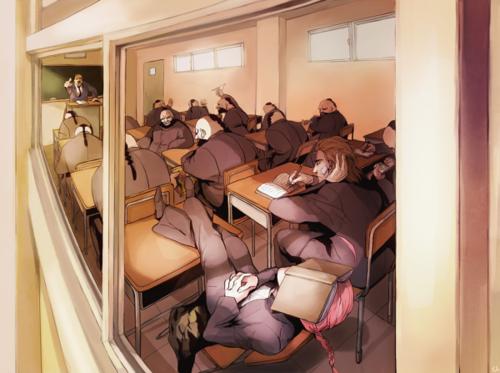 Gintama (Гинтама) High-School