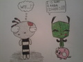 Gir and Ragamuffin! :D
