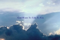 God talks to you - the-bible photo