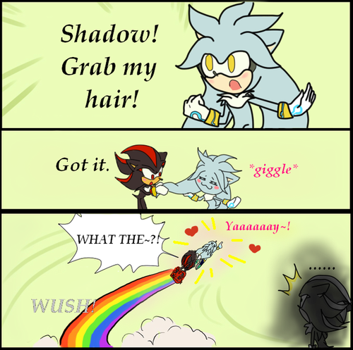 Grab my hair!! xD
