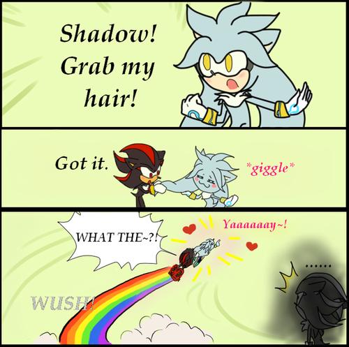 Grab my hair!! xD