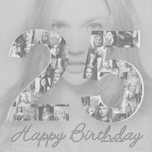 Happy birthday, Jemima! - jemima-west Fan Art