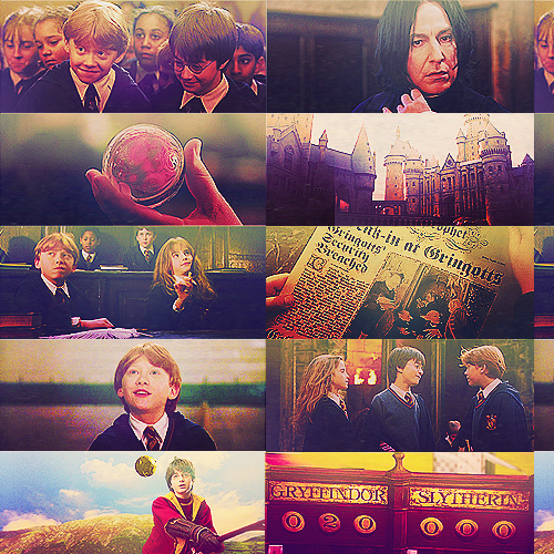 Harry Potter and Philosopher's Stone