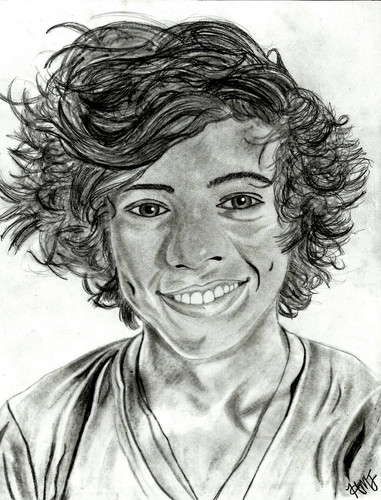 Harry Styles Sketch - harry-styles Fan Art