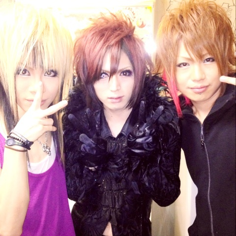 Hayato, Yo-Ka and Takafumi