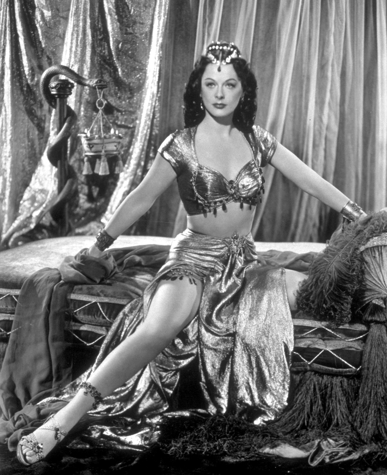 Hedy Lamarr as Delilah