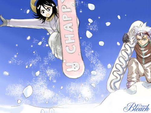 HitsuRuki snowboarding