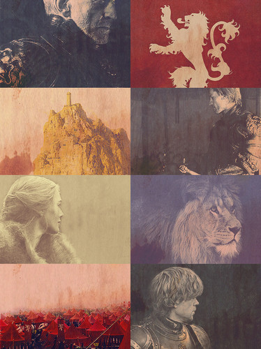 House Lannister wallpaper containing anime titled House Lannister