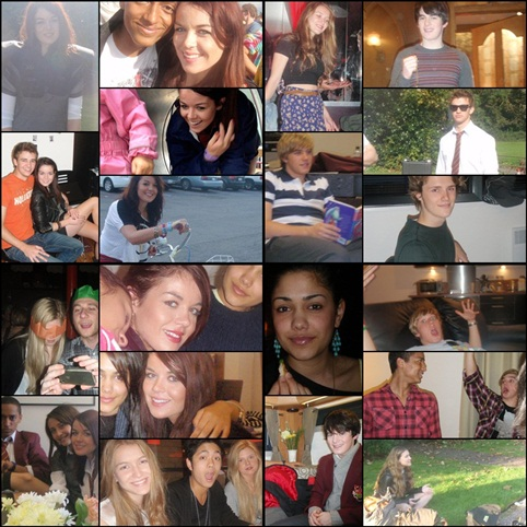 House of anubis cast collage