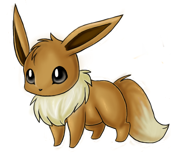 How cute is EEVEE??
