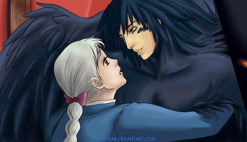 Howl and Sophie wallpaper titled Howl & Sophie