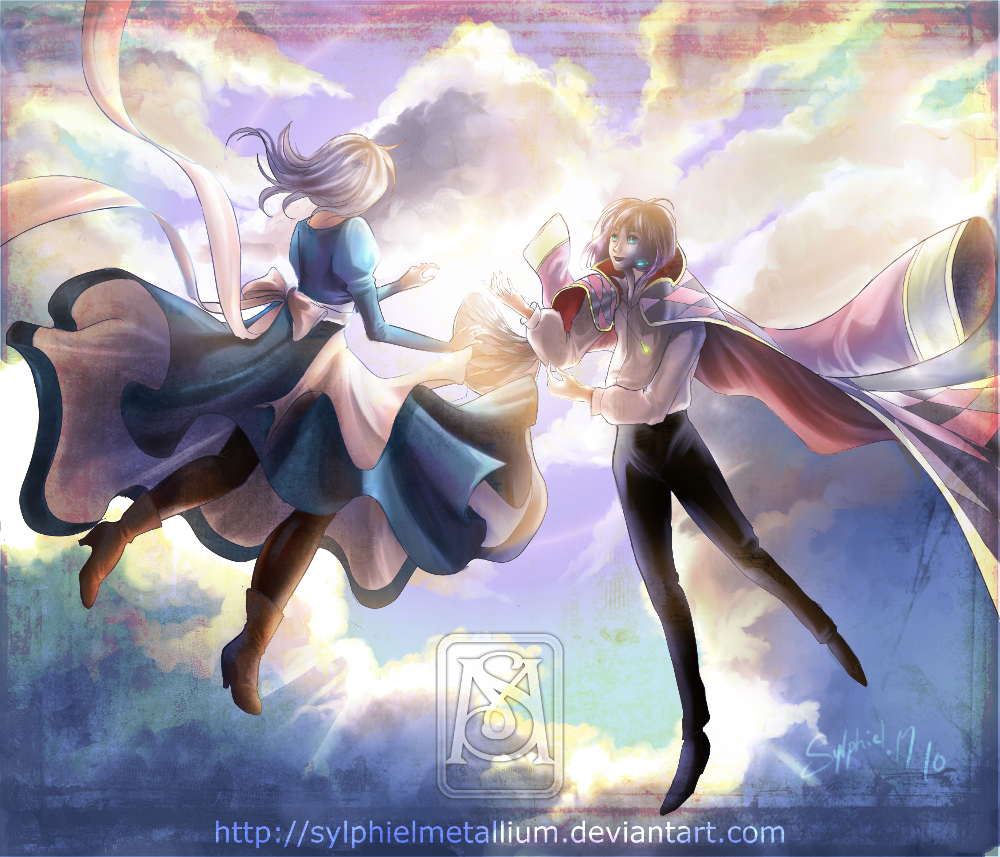 Howl and Sophie - Howl's Moving Castle Fan Art (31710392 ...