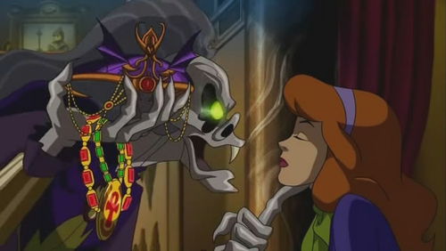 Scooby-Doo: موسیقی of the vampire پیپر وال possibly with عملی حکمت entitled Hush Daphne