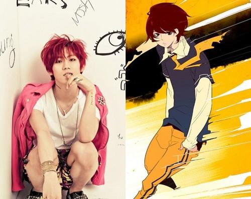 Hyunseung Anime Avatar