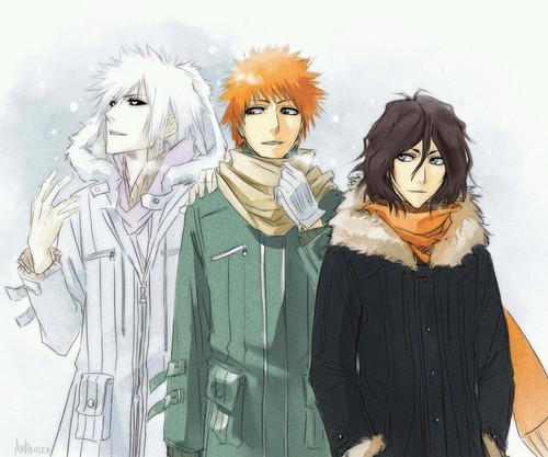 Ichigo Hollow , Icigo , and Tensa Zangetsu